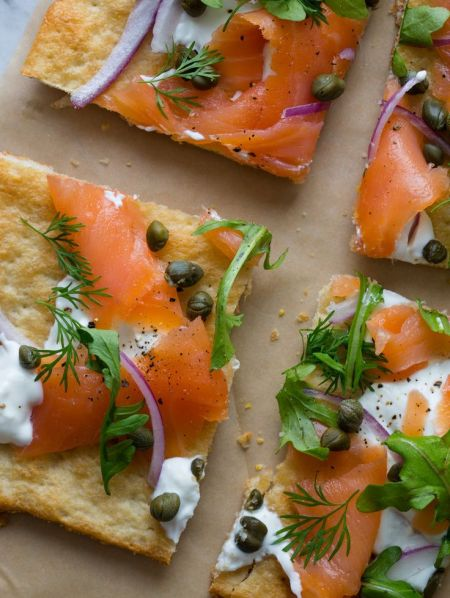 smoked salmon pizza 2